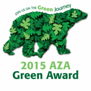 2015 Association of Zoos and Aquariums - Green Award